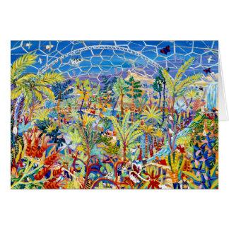 Kunst-Karte: Garten Eden. Das Eden-Projekt, Karte