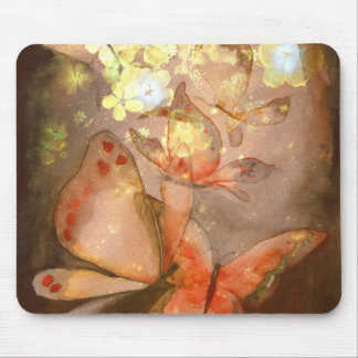"Kunst Mousepad ""hübsche Schmetterlinge """