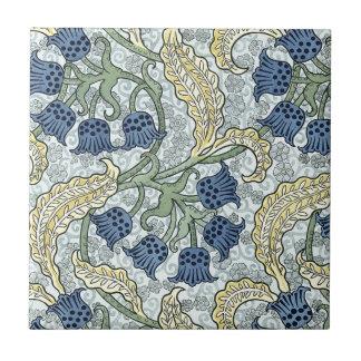 Kunst nouveau Bluebells Keramikfliese