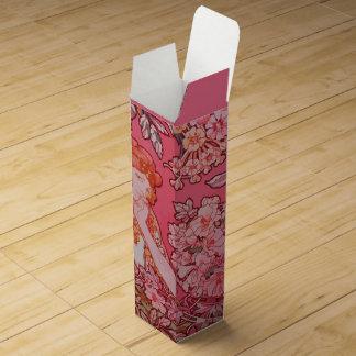 Kunst Nouveau Entwurf Wein-Geschenkboxen Weinbox