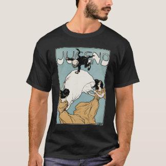 Kunst Nouveau: Jugend Kunst T-Shirt