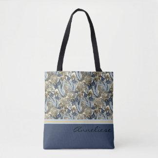 Kunst Nouveau Lilie der Tasche