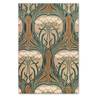 Kunst Nouveau Muster #9 Seidenpapier