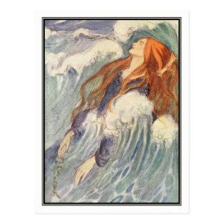 Kunst Nouveau Prinzessin durch Florenz Harrison Postkarte