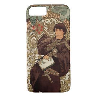 Kunst Nouveau - Sarah Bernhardt u. Drache - 1B iPhone 8/7 Hülle