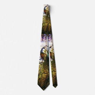 Kunst Nouveau Tiffany beflecktes Personalisierte Krawatten