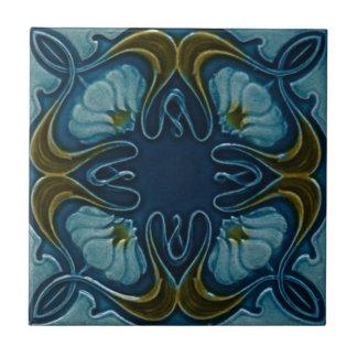 Kunst Nouveau Vintage Ausrüstungsbeschreibung Keramikfliese