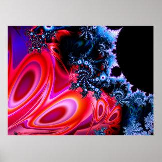 Kunst-Plakat des Fraktal-1113mz1b0305 Poster