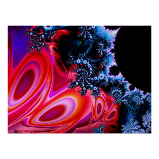 Kunst-Plakat des Fraktal-1113mz1b0305