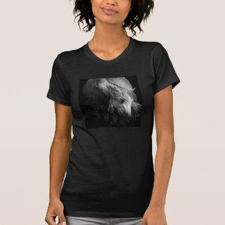 Kunst-Pony-Kopf- und Mähnendamen ppetite T-Shirt