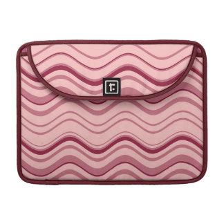Kunst-Retro rosa Welle abstrakt Sleeve Für MacBook Pro