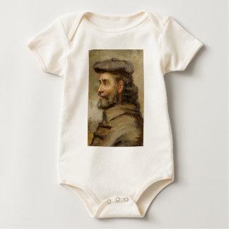 KUNST   Robert P. Kilbert (Selbstporträt) Baby Strampler