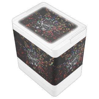 Kunst-schwarze Farbmosaiktailgating-Geschenke Kühlbox