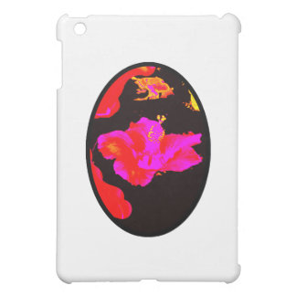 Kunst-Spiel Hybiscus 4 die MUSEUM Zazzle Geschenke iPad Mini Hüllen