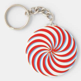 Kunst Standard Runder Schlüsselanhänger