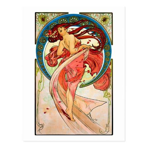 Kunst-Tanz Postkarten