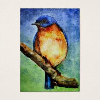 Kunst-Trading Cards des Drossel-Porträt-ACEO Visitenkarte