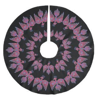 Kunst-Ureinwohner-Symbol z Thunderbird Südwest Polyester Weihnachtsbaumdecke