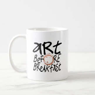 Kunst vor Frühstücks-Tasse Kaffeetasse