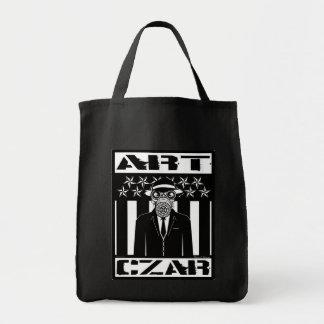 Kunst-Zar - gasen Sie Mann #2 - Taschen-Tasche Einkaufstasche
