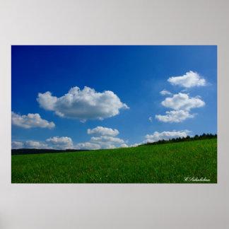 Kunstdruck Wolken Wolkenhimmel Poster