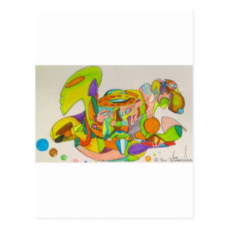 Künste CopyRight_-2 Ians Morris Postkarte