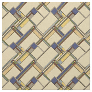 Künste u. Handwerks-Fall-geometrisches Muster Stoff