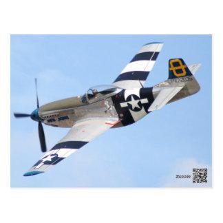 Kunstfliegenflugzeug, Postkarte