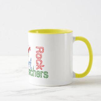 Kunstlehrer-Felsen-Tasse Tasse