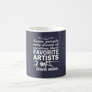 Kunstlehrer Kaffeetasse