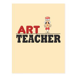 Kunstlehrer (Mann) Postkarte
