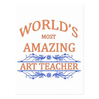 Kunstlehrer Postkarte