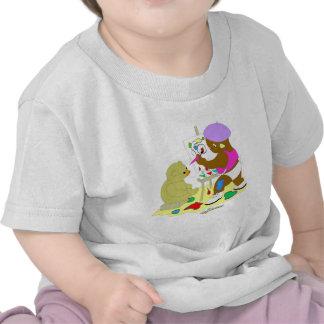 Künstler-Baby Shirts