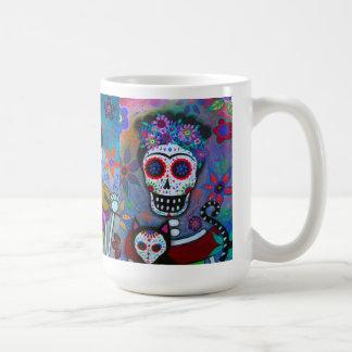 Künstler Dia De Los Muertos Mexican Kaffeetasse