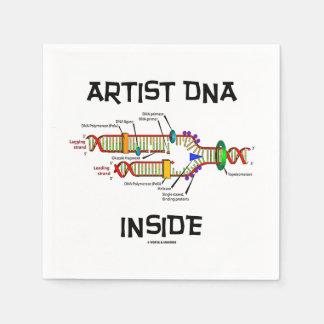 Künstler DNS innerhalb der Reproduktion der Servietten