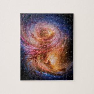 Künstler-Eindruck des Spiralarm-SMM J2135-0102 Puzzle