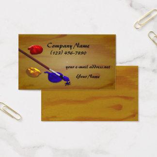 Künstler-Maler-Palette Visitenkarte