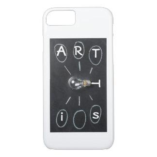 Künstler-Malertelefonabdeckung iPhone 8/7 Hülle