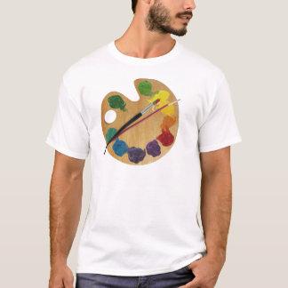 Künstler ` s Paletten-Farbrad T-Shirt