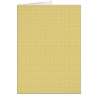 Künstler stellte gelbe SCHABLONE Karte