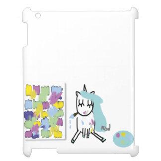 Künstlerin-Einhorn - iPad-Hülle iPad Hülle