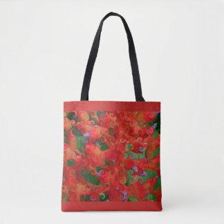Künstlerische Bio Wirbels-Tasche Tasche