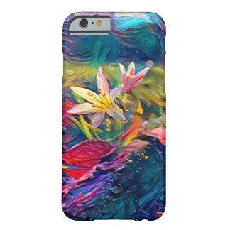 Künstlerische Blume Barely There iPhone 6 Hülle