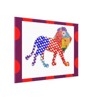 Künstlerische digitale Entwürfe der Grafik n durch Leinwanddruck