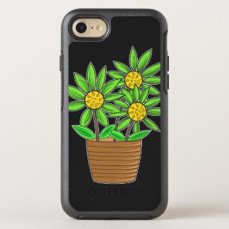 Künstlerische eingemachte Sonnenblumen OtterBox Symmetry iPhone 8/7 Hülle