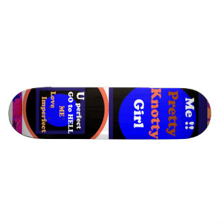 Künstlerische grafische Auswahl 20,1 Cm Skateboard Deck