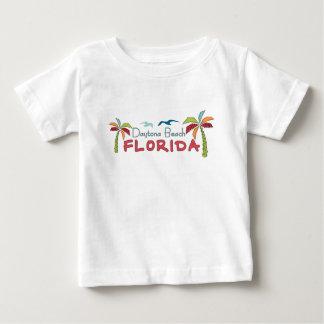 Künstlerische Palmen Daytona Beach Florida Baby T-shirt