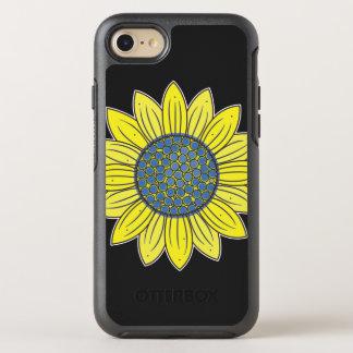 Künstlerische Sonnenblume OtterBox Symmetry iPhone 8/7 Hülle