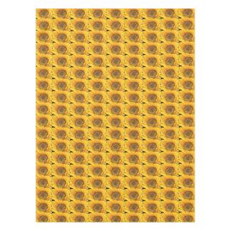 Künstlerische Sonnenblumen Tischdecke