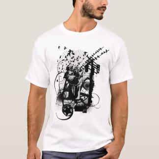 Künstlerische städtische Art-Faust-künstlerische T-Shirt